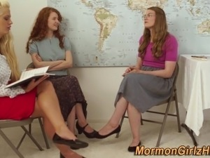Mormon teacher fingers
