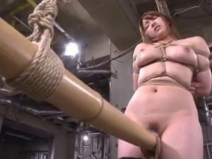 Hardcore bondage fetish action with lustful Japanese cowgirls