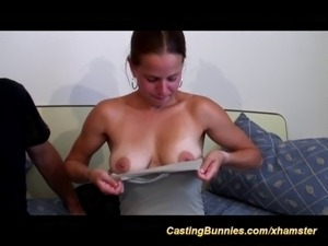 cute big boob french girls first anal casting
