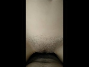 Freshly trimmed pussy getting fucked