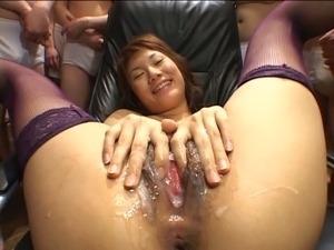 Pussy Bukkake - Yuri Manaka