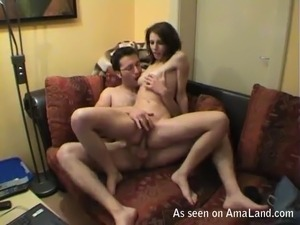 Fucking my German girlfriend in the ass