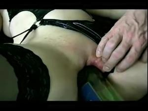 Slut Wife is bottle fucked