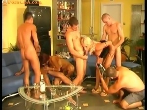 HUngarian Gangbang party, vol1