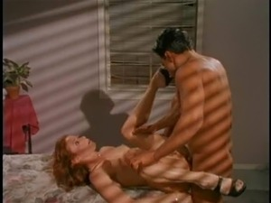 Redhead milf ravished hardcore till the guy cums in her mouth