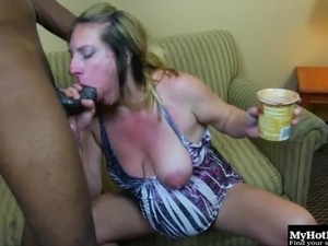 Pregnant housewife getting blacked just like in her wildest dreams