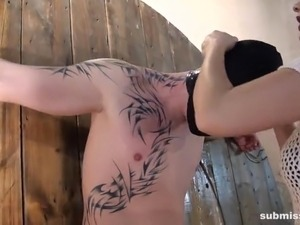 Submissed.com Sex slave controlled by his Domina