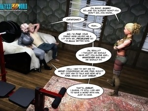 3D Comic: Echo. Episode 8 - Sress Test