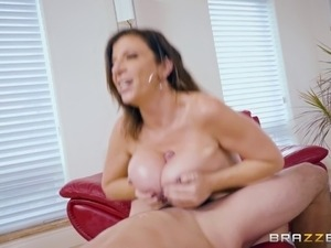Busty babe gets fucked for money and enjoys in every minute of it