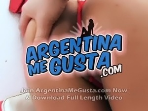 Huge Natural Breasts on thie Latina Teen. Meaty pussy.