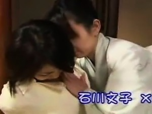 Lustful and lonely Japanese housewives explore their lesbia