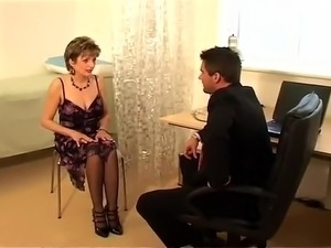British MILF Visits Her Doctor