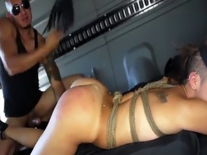 Extreme vagina and police bondage Engine failure in the middle of nowh