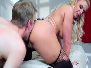 Danny D anal fuck Phoenix Marie on top of his cock