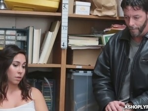 Geneva's father and the officer strike up a hardcore deal