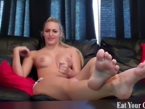 Are you ready to swallow your cum for me CEI