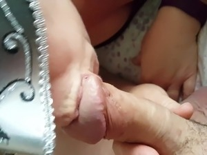 UK wife swallows cum