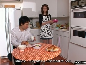 Japanese chick Yoshioka Nanako seems to have a great love for oral sex