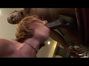 Nasty Redhead ShortHaired MILF BBC Anal