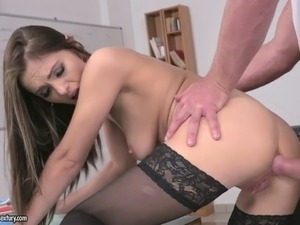 Dominica Fox enjoys being a naughty teacher and she fucks like crazy