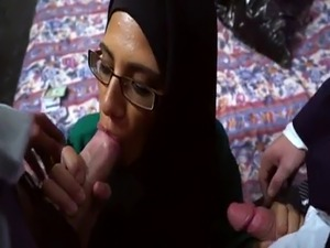 Xxx arab anal Desperate Arab Woman Fucks For Money