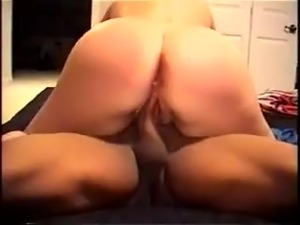 PAWG riding black dick