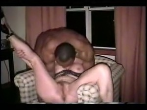 Young black man intensively pleasing my milf white wife