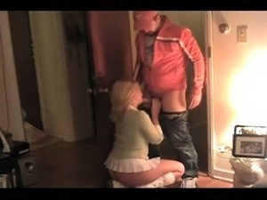 Hidden cam in model agency films hot blonde