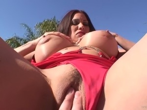 Sexy Cougar Gives A Blowjob And Gets A Rough Anal POV