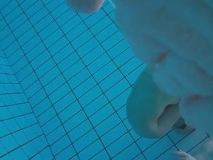 Unterwasser Pool Voyeur