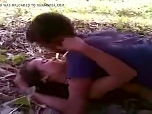 Indian girl fuck two guys outdoor