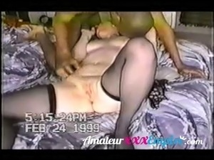 Hot wife recorded by hubby fucked by black dude
