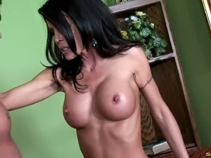 Alluring nice ass brunette likes doggystyle ravishing
