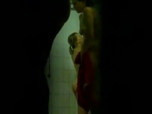 Amateur spy cam video of all nude chick taking a shower will make you cum