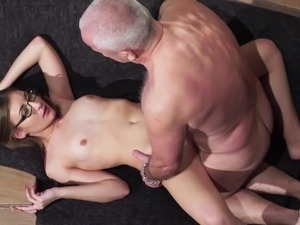 Grandpa gets cock sucked and wet beautiful