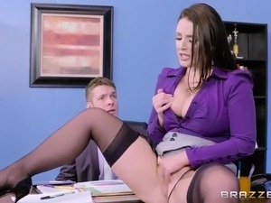 Brazzers - Angela White - Big Tits at Work