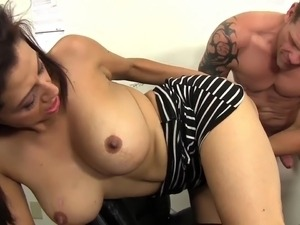 Slutty Milf Boss Sabrina Sanchez