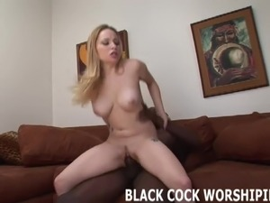 I love getting violated by two big black cocks at the same t