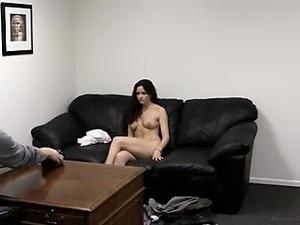 Small Tit Brunette Sex Casting