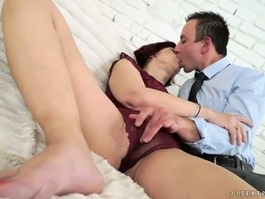 This woman is a dirty old slut and she is ready for a sex date with a young man