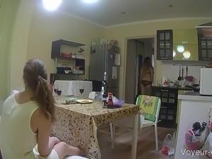 Three beautiful babes on a hidden cam