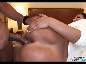 MILF gets BBC in hotel room