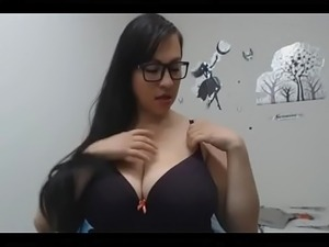 hot busty babe fuck by his partner- See More camgirl Live at http://freecamgirl