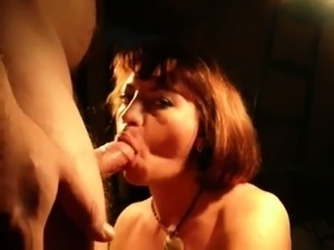 Skilled mature milf pov pleasuring cock