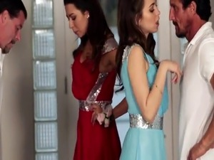Teen compeer fucks for candy first time Prom Night