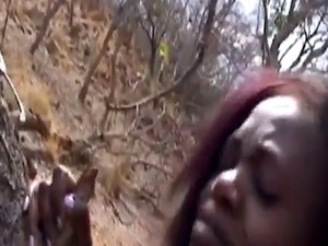 Nipple torment  BDSM  and rough interracial fucking with African slut!