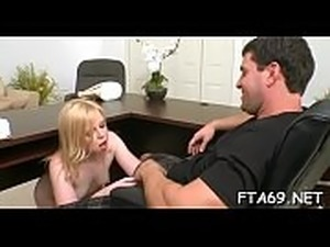 Sexy casting session for cutie