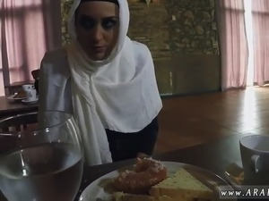 Arab dance xxx Hungry Woman Gets Food and Fuck