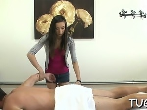Favourable guy endures the way sex gets united with massage