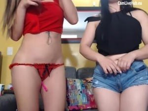 BIG ASS LATINA LESBIANS PLAYIN ON CAM ONE